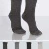 4-pack strumpor med glittrig häl