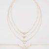 Halsband i lager med diamantdetalj