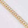 Kraghalsband med diamant