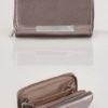 Metallfärgad plånbok