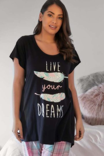 "Pyjamastopp ""Live your dreams"""
